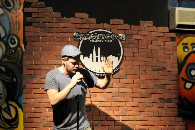 Cormac Moore Comedian Crackhouse Comedy Club