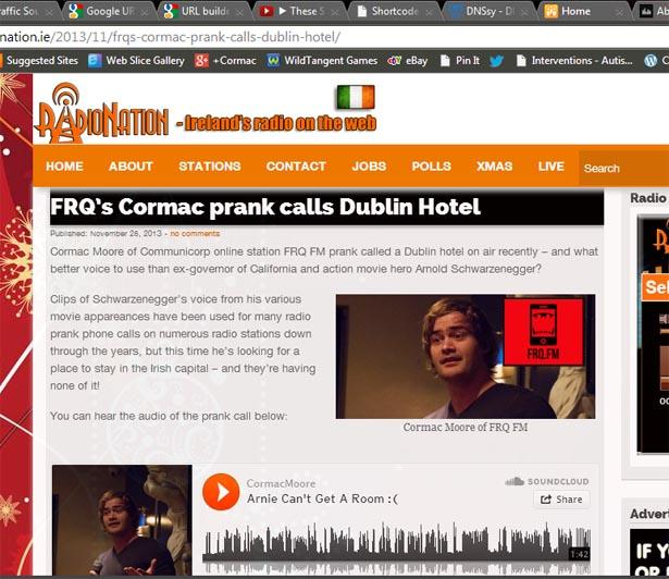 Cormac Moore Prank Call