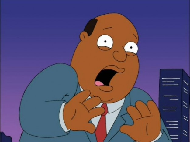 Ollie Williams Family Guy