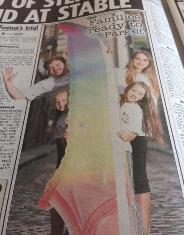 Cormac Moore Daniella Moyles Simon Community Fun Run Launch