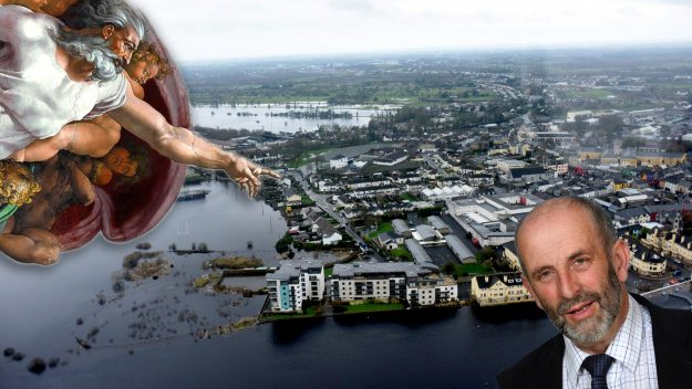 Danny Healy-Rae Only god Controls Weather Dail