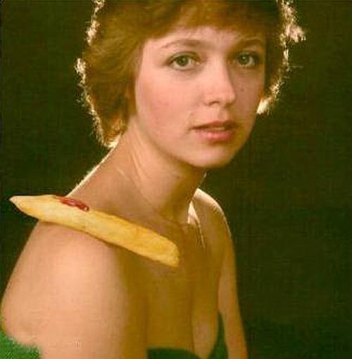 Chip on her shoulder