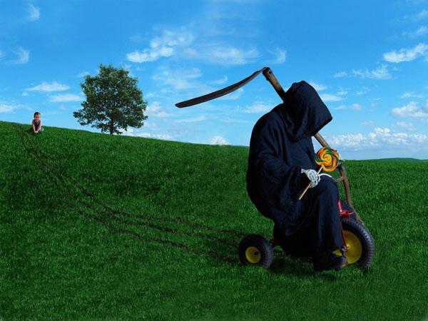 Grim reaper funny image