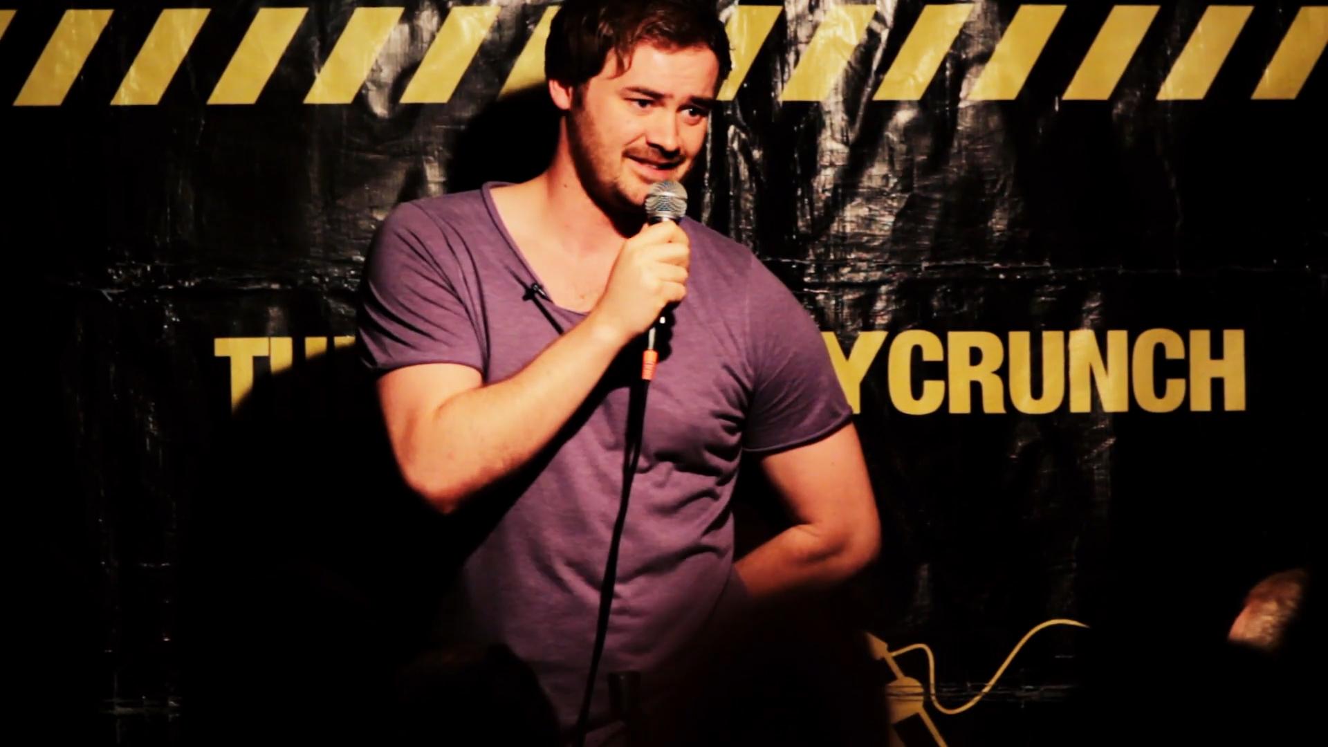 Comedian Cormac Moore