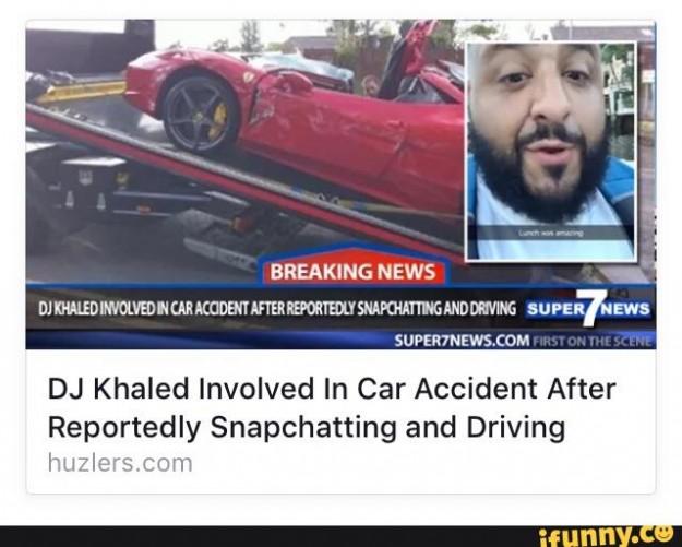 snapchat driving fail