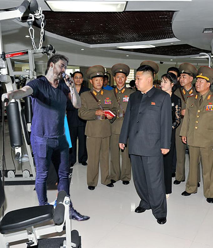 Cormac Moore North Korea Comedy Gig