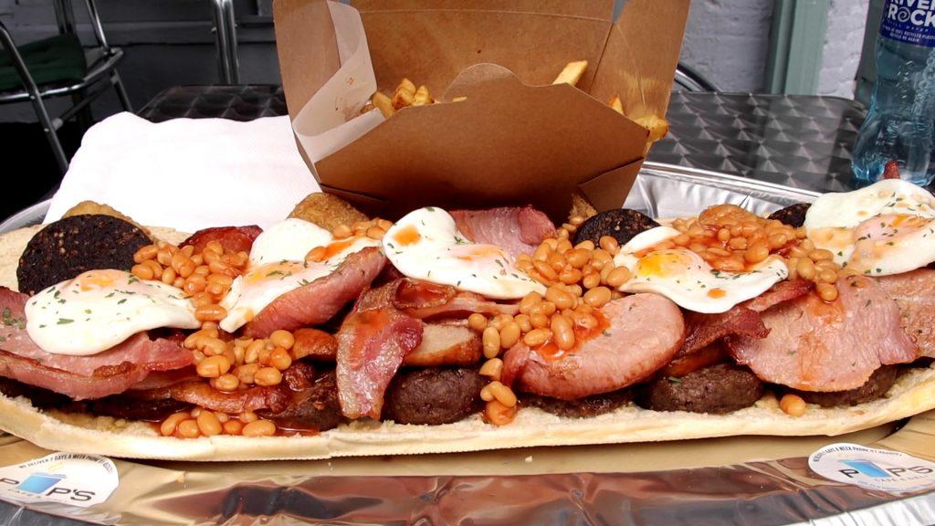 Pips Deli Crumlin Breakfast Roll Challenge