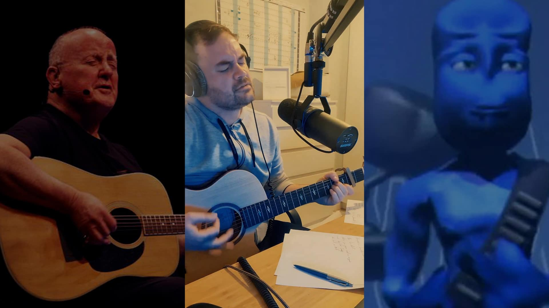 Christy Moore Blue Cover